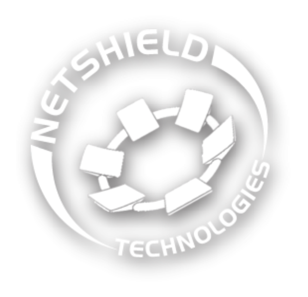 Netshield Technologies Logo White 600 Shadow